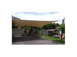 Waterproof PVC sails available from Pattons Awnings