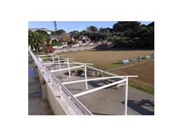 Waterproof Tension Structure from Pattons Awnings Installed at Waverly Bowls Club