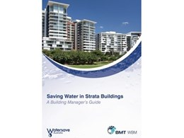 Watersave's Building Manager's Guide to saving water in strata buildings