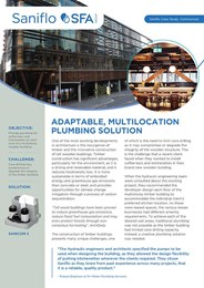 Case study: WeWork plumbing solution multilocation