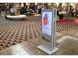 Westfield installs Aeris digital posters from Just Digital Signage