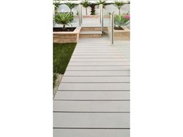 Wide decking board range from ModWood