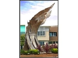 'Wings of Spirit' - sculpture by Terrance Plowright Fine Arts