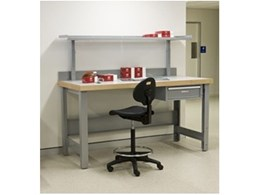 Workbenches for industrial workshops from Bosco Storage Solutions