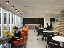 Workplace fitout design boosts staff collaboration and communication