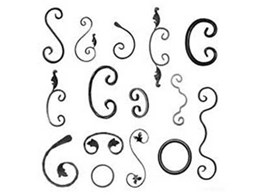 Wrought iron accessories and components by Chatterton Lacework