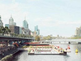 Waterway pool being conceptualised for Melbourne's Yarra River