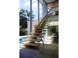 Z2 stainless steel staircases manufactured by Arden Architectural Staircases