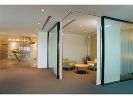 Zero clearance sliding doors favoured by architects