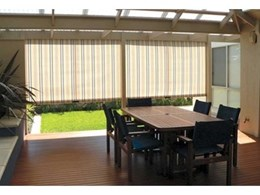 Ziptrak clear PVC and shade blinds take outdoor blinds market by storm