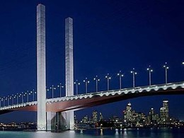 ICL supplies 549 truckloads of concrete to iconic Bolte Bridge construction