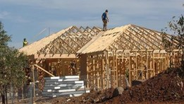 Weaker residential construction work outlook predicted