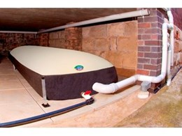eco sac flexible rainwater bladder tanks from Eco Sac