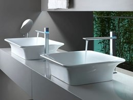 iSpa bathroom collection showcases Italian design
