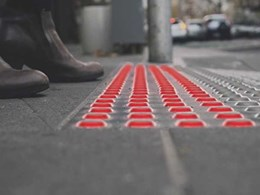 Melbourne design agency creates in-ground traffic lights to protect smartphone using pedestrians