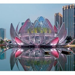 Giant Lotus Flower among finalists for 2014 Victorian Premier's Design Awards