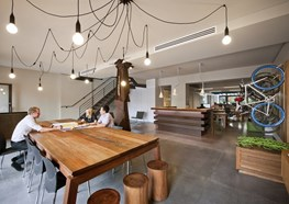 Oxigen Halifax Studio by Oxigen wins 2015 Sustainability Awards - Office Fitout prize