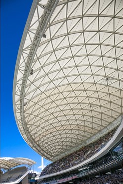 FINALIST - Architectural Excellence Award- The Adelaide Oval redevelopment project by Cox Architecture. Photography by Drew Lenman Photography