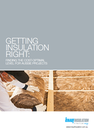 Getting insulation right: finding the cost-optimal level for Aussie projects