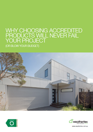 Why choosing accredited products will never fail your project (or blow your budget)