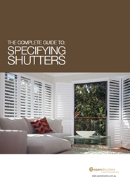 The complete guide to specifying shutters
