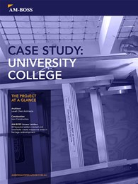 Case Study: University College heritage redevelopment