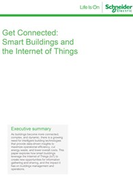 Get Connected: Smart buildings and the Internet of Things