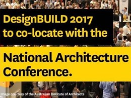 DesignBUILD 2017 co-locates with the National Architecture Conference