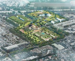 Rafael Viñoly unveils plans for 'world's largest green roof' in California