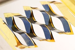 Improved solar cell design inspired by Japanese art of Kirigami