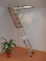 Commercial and industrial ladder installations from AM-BOSS Access Ladders
