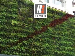 Elmich VersiWall green wall survives super typhoon Meranti in Fujian, China