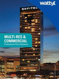 Multi-res and Commercial: Professional paint solutions