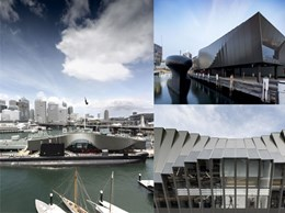 Case Study: Kingspan panels create striking facade at maritime museum building