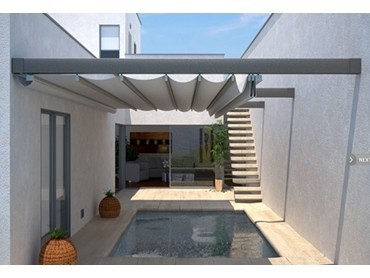 Altecninc Supa Track Retractable Roof Awning