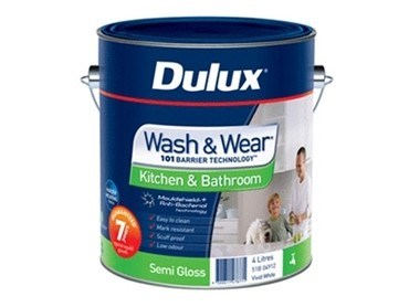 Dulux Wash & Wear Kitchen & Bathroom Semi Gloss - 51B-04912