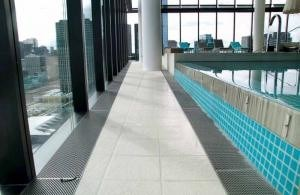 Linear Drainage For Large Commercial Applications