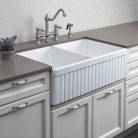 Double And Single Butler Sinks. European Made