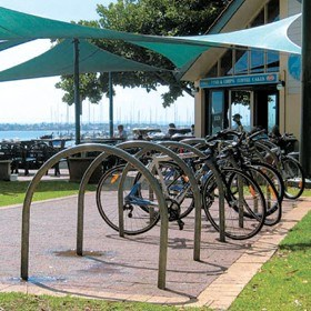 Bicycle parking made easy with Cora Bike Rack