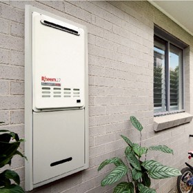 Rheem 27 Continuous Flow Gas Water Heater