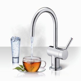 Stylish, New, Steaming Hot Water Tap