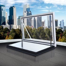 Gorter's new translucent roof hatch