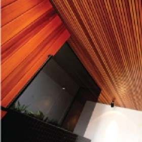 New Architectural Profiles in Western Red Cedar