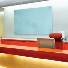 SilverScreen GlassWhiteboard ultimate style, quality & colour