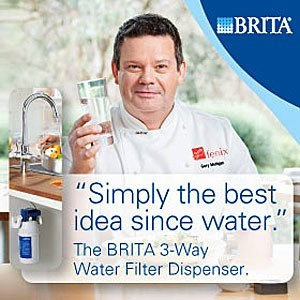 BRITA's 3 Way Water Filter System: The Essential Ingredient for Your Food and Your Kitchen