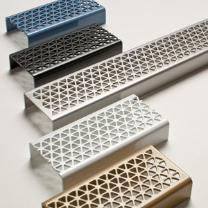 Marc Newson Designed Linear Grates for Bathrooms