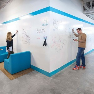 High performance whiteboard paints