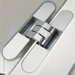 Make your door hinges disappear with the all new Rocyork concealed door hinge
