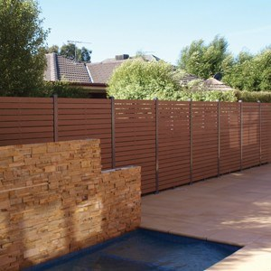 EnviroSlat alternative to traditional timber fencing products
