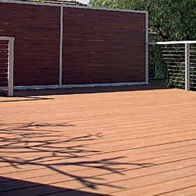 The Ultimate In Decking; Slip, Bushfire, Scratch & Fade Resistant